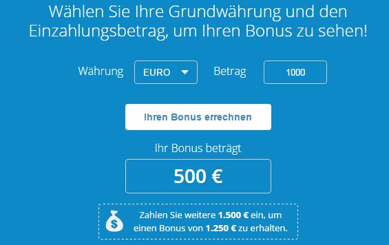 AvaTrade-Einzahlungsbonus