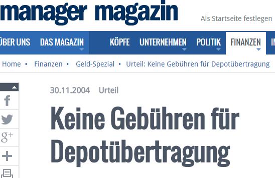 Depotübertrag-BGH-MM