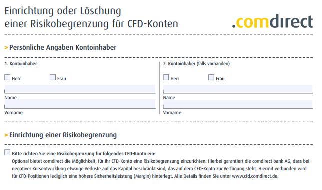 CFD-Risikobegrenzung-comdirect