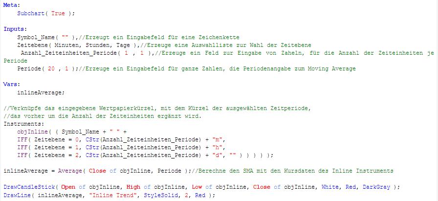 Equilla-Quellcode-Tradesignal