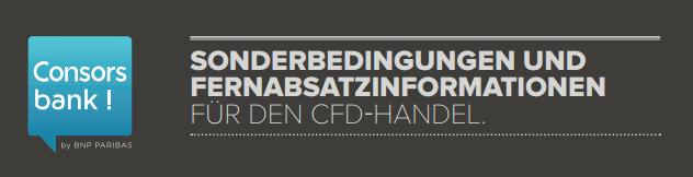 Consorsbank-CFD-Bedingungen