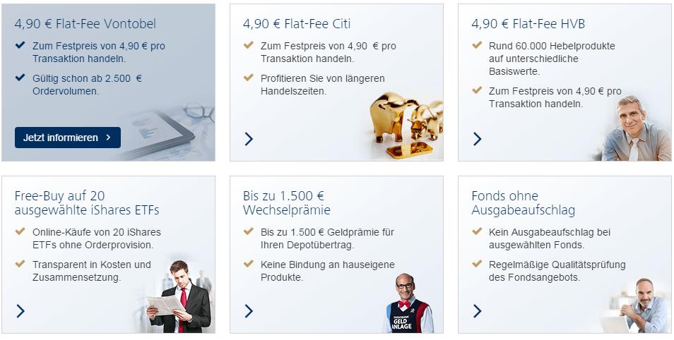 Targobank-Sonderpreisaktionen