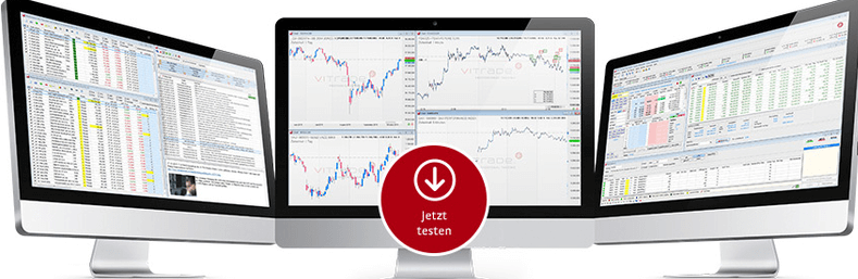 ViTrade-API-Bildschirme