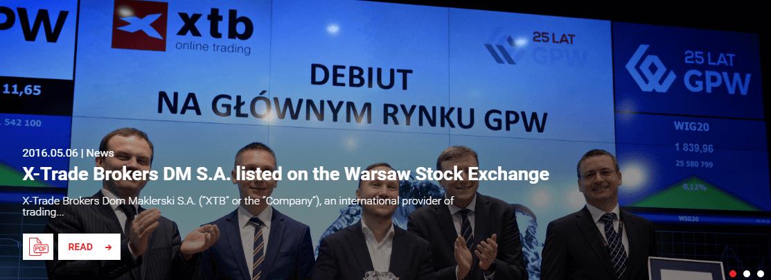 XTB-Börsengang-Warschau