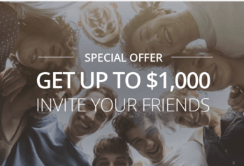 eToro provides a referral bonus