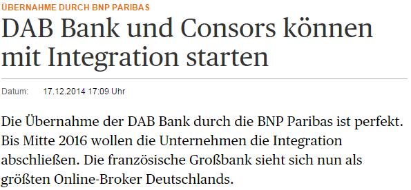BNP-Consorsbank-Übernahme-HB
