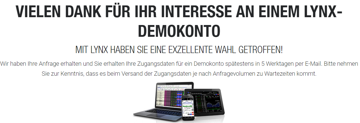 Online Broker Demo LYNX