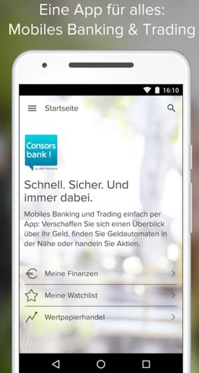 Online Broker App Consorsbank