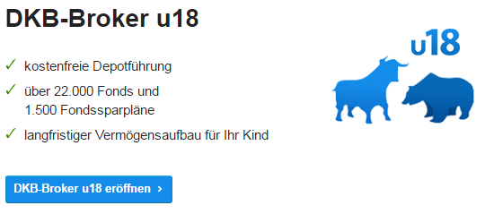 Junior Depot Vergleich DKB-Broker-U-18