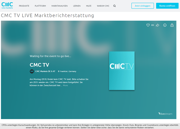 CMC Markets TV