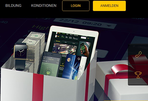 24Option-Aktion-Geschenkebox