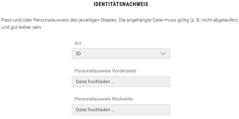BDSwiss-Identitätsnachweis-Dokumentenupload