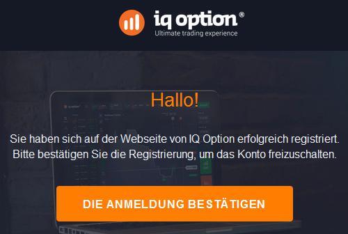 IQ-Option-Mail-Bestätigungslink
