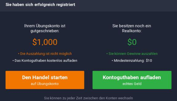 IQ-Option-Real-Demo-Auswahl