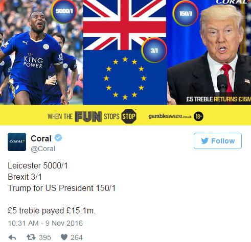 Wette-Trump-Brexit-Leicester