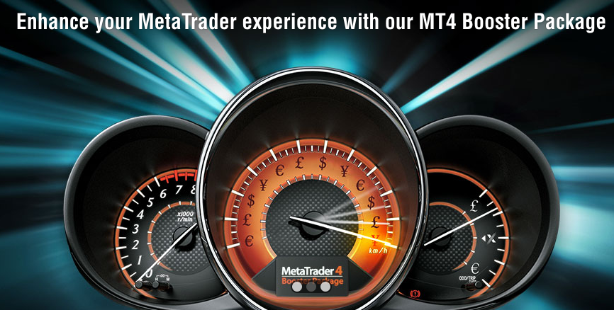 The MT4 Booster Package includes numerous additional applications for the trading platform MetaTrader4