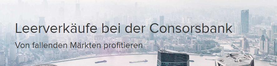 Consorsbank-Leerverkäufe-Banner