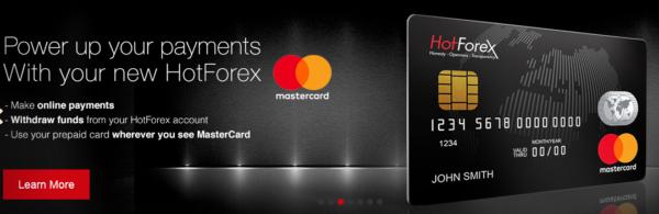 HotForex Zahlungsmöglichkeiten