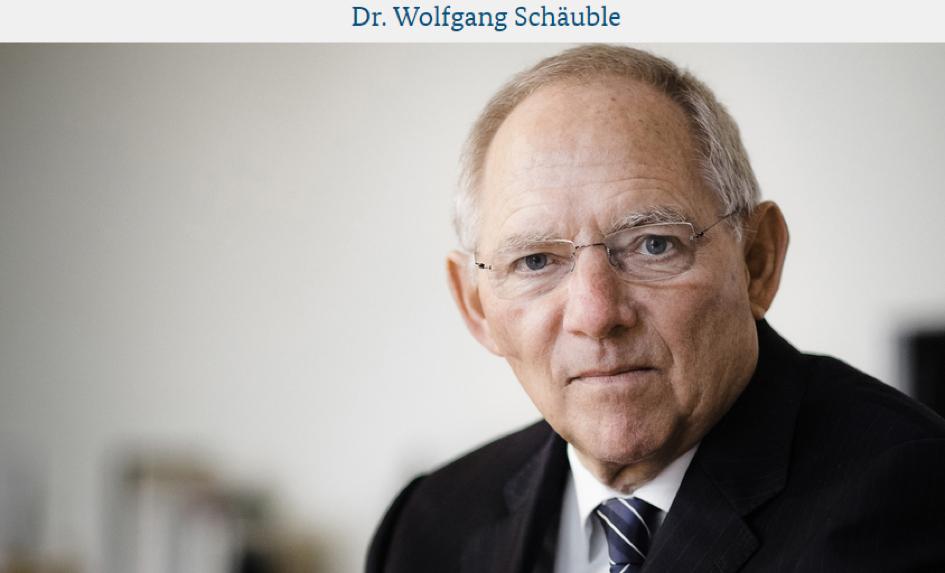 Schäuble Portrait BMF