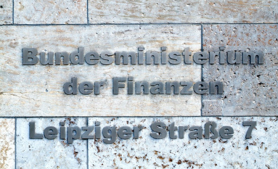 Finanzministerium Inschrift Leipziger Straße