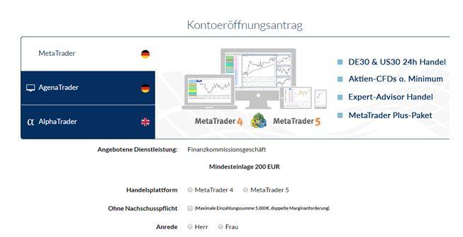 FXFlat-Kontoeröffnung-Plattformen