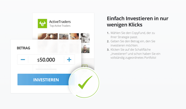 eToro Investition