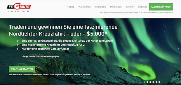 FXGiant Webseite