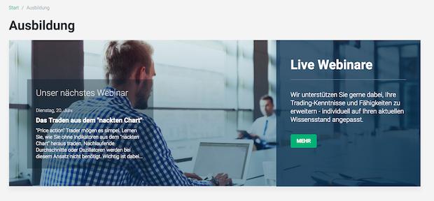 XTB setzt auf Webinare, um seine Trader zu schulen