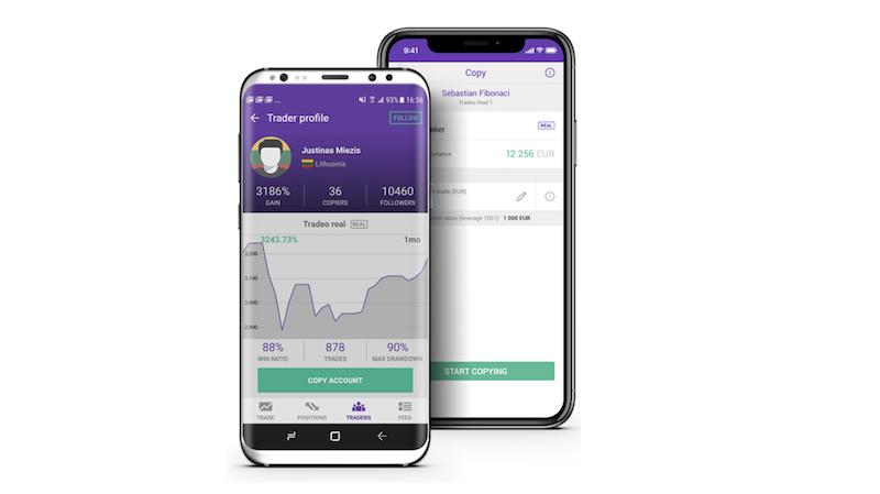 Tradeo Trading App