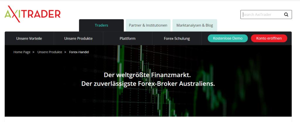 AxiTrader Market Maker
