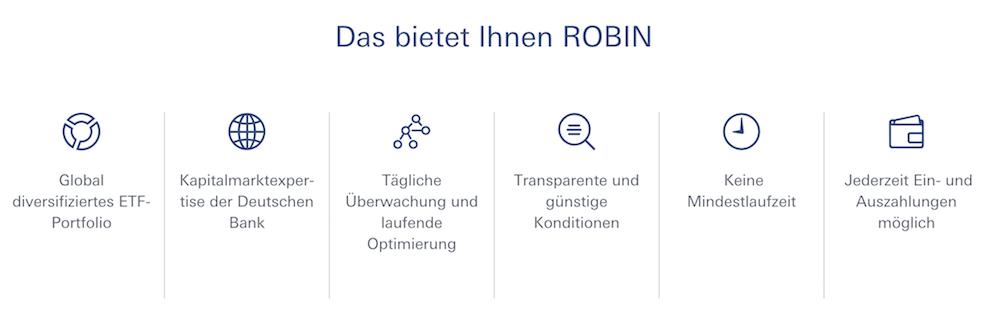 ROBIN Robo Advisor Stärken