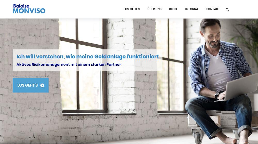 Baloise Monviso Homepage