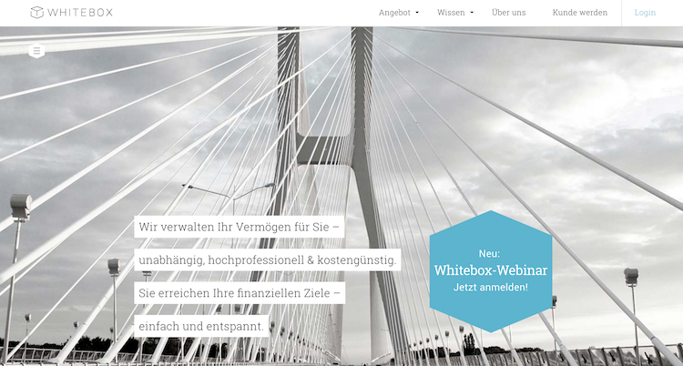 Whitebox Konditionen