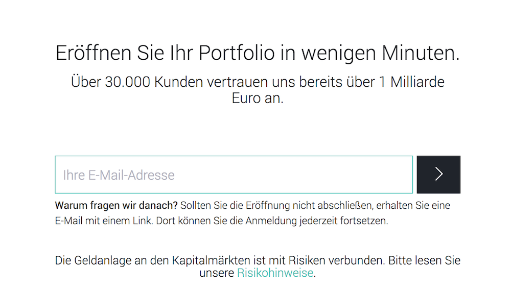 Scalable Capital Kontoeröffnung