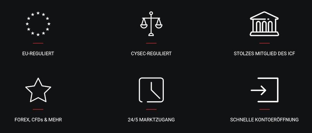 Naga Markets Regulierung