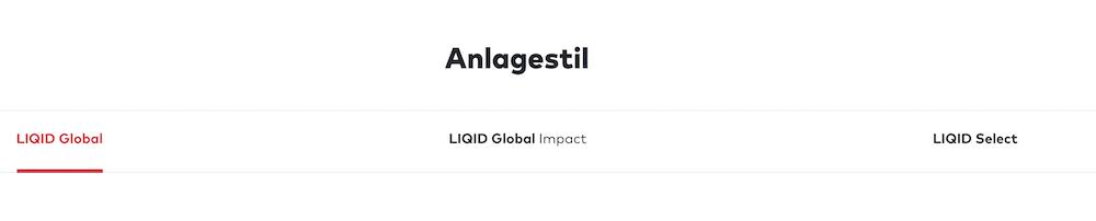 LIQID Anlagestrategien