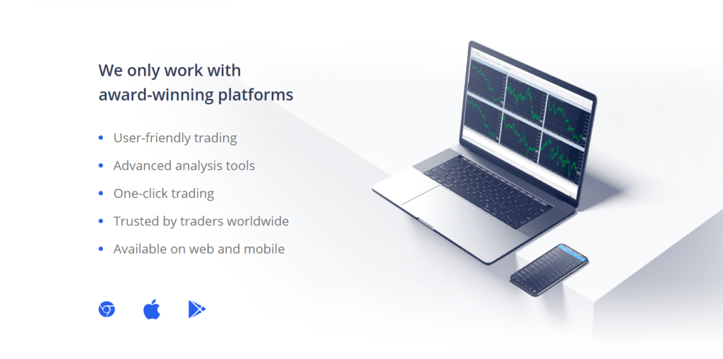 Work with the award-winning platforms of etfinance