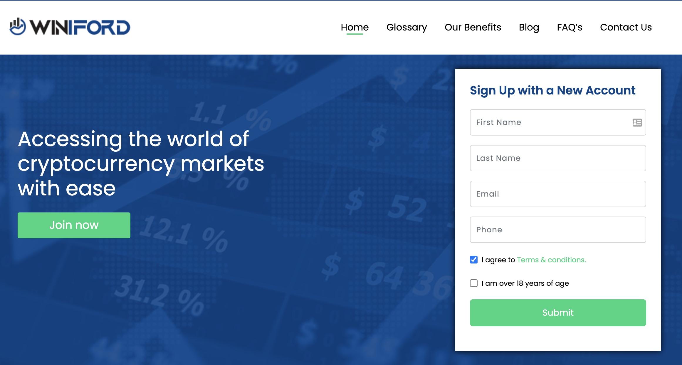 Winiford Website