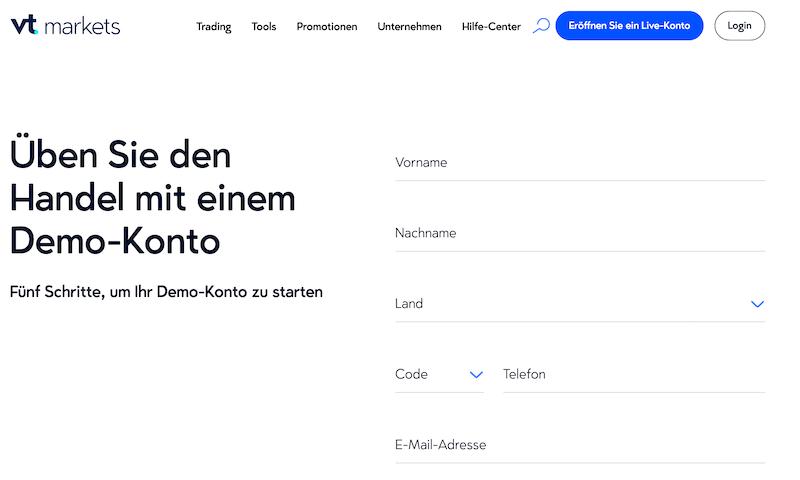 VT Markets Demokonto
